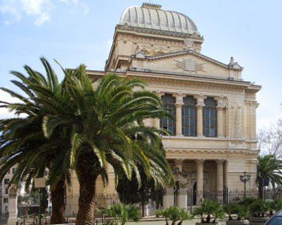 A special destination wedding: A Jewish wedding in Rome.