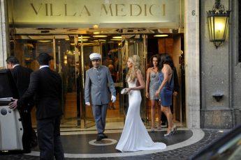 "Exclusive Destination Wedding : "" The Villa's Secret Room "" in Rome center"