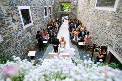 YOU DON'T HAVE TO BE ROYAL TO BE MARRIED IN A CASTLE