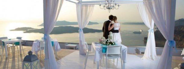 Your Idyllic Wedding In Santorini