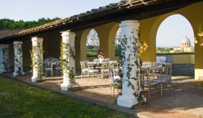 Get Married in front of the Basilica of San Pietro