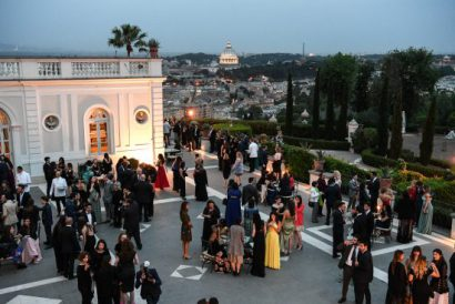 Unforgettable event high above Rome!