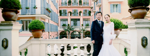A Chinese love story in Rome !