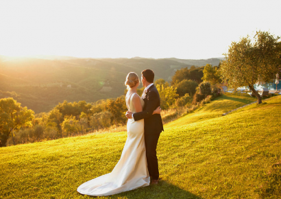 Destination Wedding in Tuscany. What is more peaceful and beautiful than the countryside?