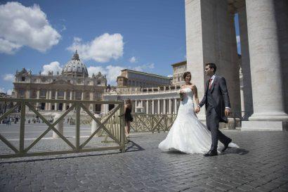 Une destination de mariage célébrée à la Cité du Vatican