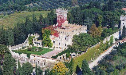 Un mariage dans un château en Toscane
