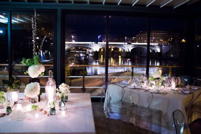 Célèbre ton événement/mariage sur le Tibre !