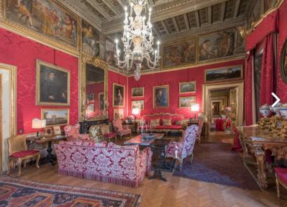 Un merveilleux palais dans la magnifique ville de Rome