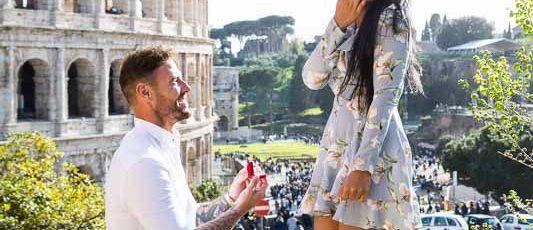Demande en mariage à Rome: offrez-lui une soirée de St-Valentin inoubliable!