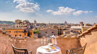 Destination de mariage à Rome avec une vue fantastique!