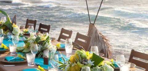 Destination Wedding da favola e decorazione sul tema del mare