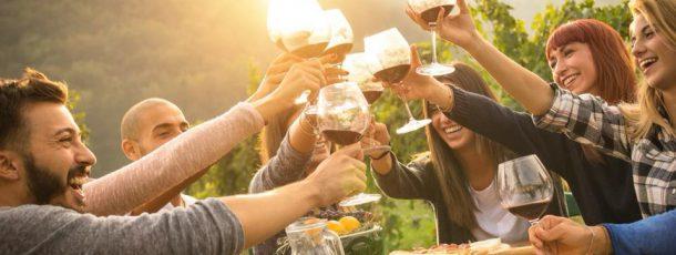 Addio al celibato con degustazione di vini
