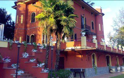 Una villa meravigliosa e affascinante su una collina