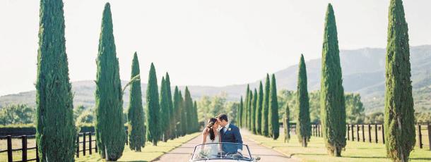 Matrimonio medievale in Toscana