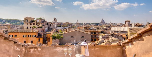 Location per matrimoni a Roma con una fantastica vista!